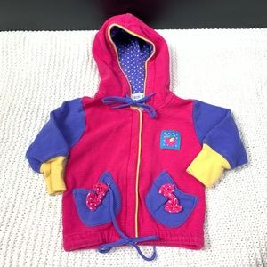 Vintage Gymboree Girls Cute Hooded Sweater Warm